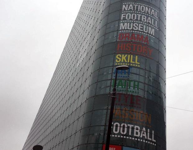 Fotball museumet i Manchester