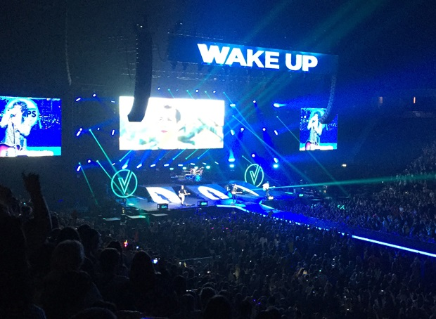 The Vamps konsert i Manchester