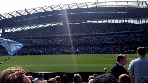 Fotballkamp i Manchester