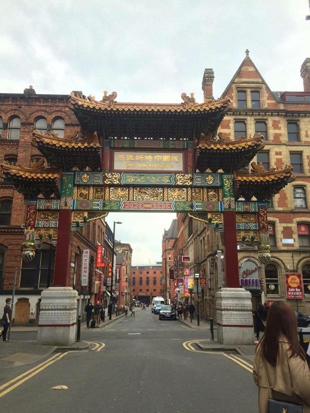 Chinatown i Manchester