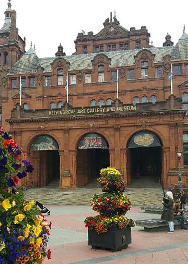 Kelvingrove Museum and Art Gallery i Glasgow