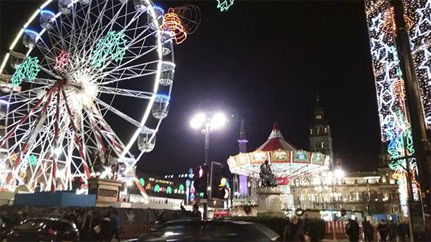Julemarked i Glascow