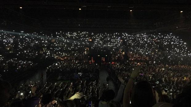 Konsert i England