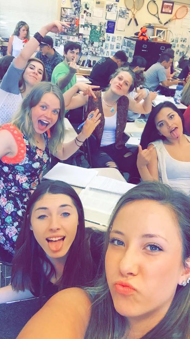Gruppebilde i klasserom