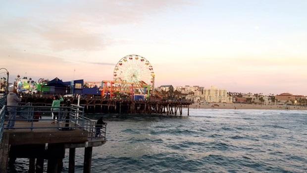 Den beste utsikten over Santa Monica Pier