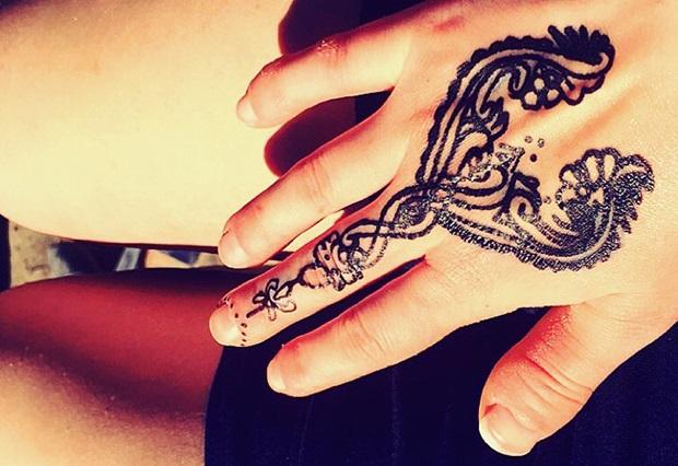 Henna tattoering