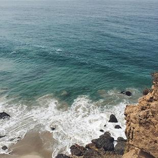 utsikt over sjøen i LA