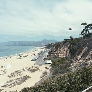 Utsikt over standen i LA