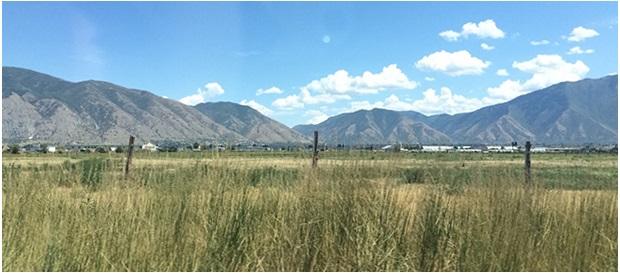 Utsikt i Utah