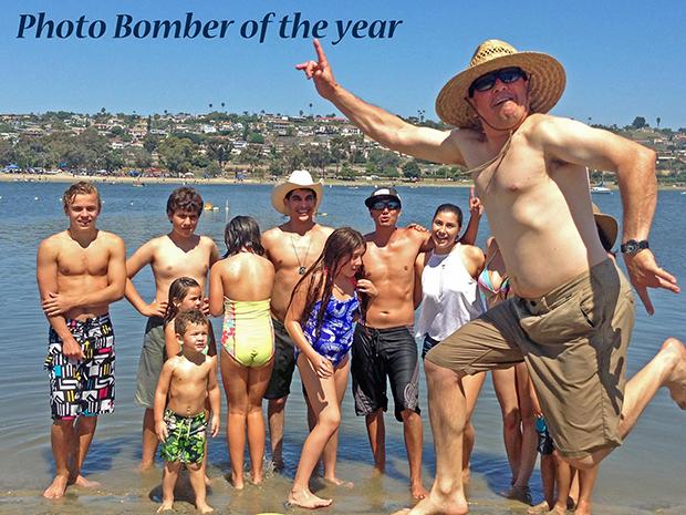 Bjørnar, barnebarna og en fotobomber!