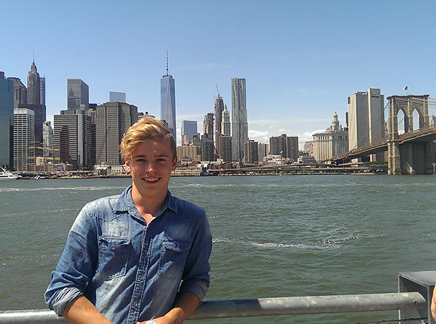 Norsk student i New York