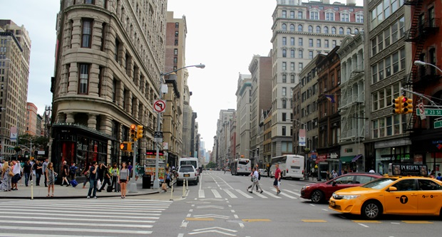 Gatebilde i New York City