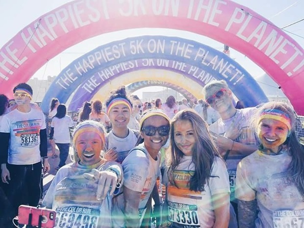 Color Run i San Fransisco
