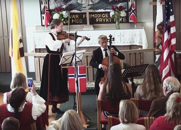 Cello i kirken
