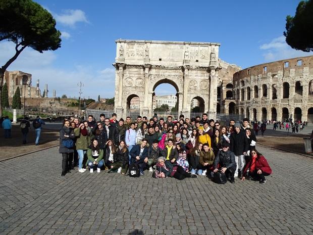 turister i Roma
