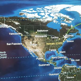 fly til USA