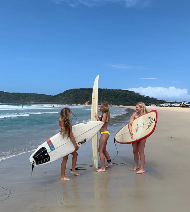Surfbrädor i Australien