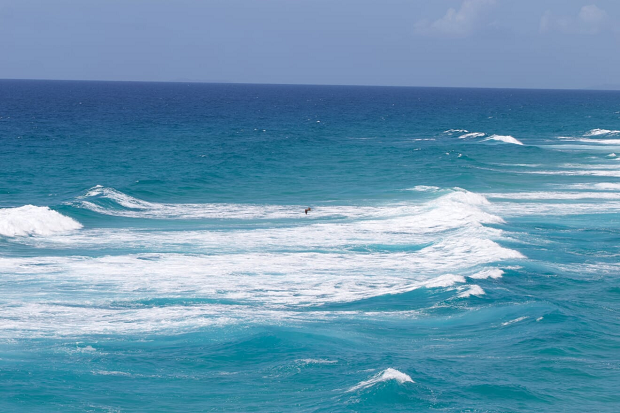 Vackert hav i Australien