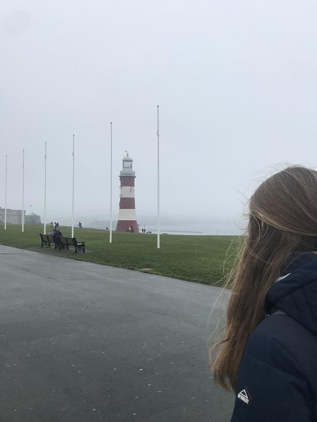 Promenad i dimman