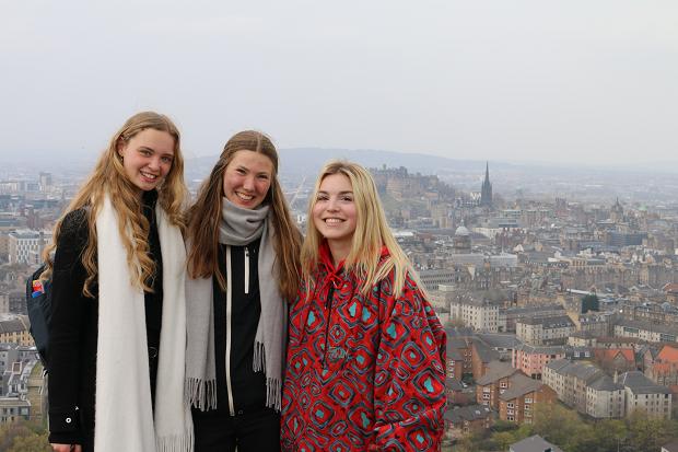 Utvekslingsstudenter i England