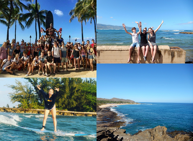 utbytesstudent resa hawaii