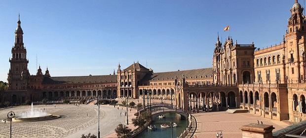 Utsikt over vakre Sevilla