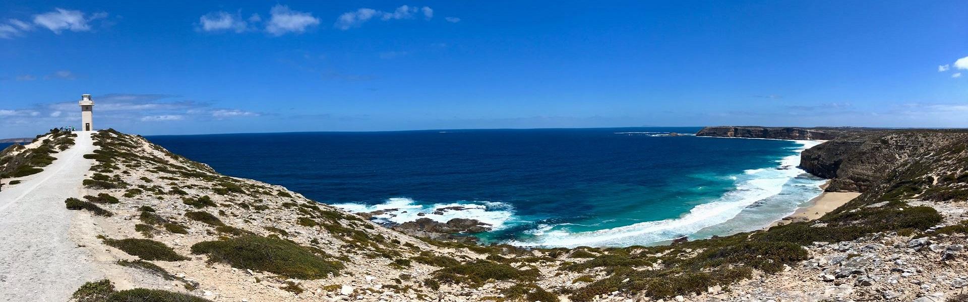 menschenleere Küste in Australien