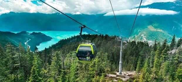 Sea to Sky Gondola in British Columbia