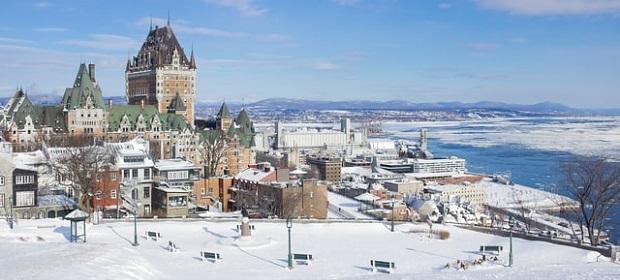 Quebec im Winter