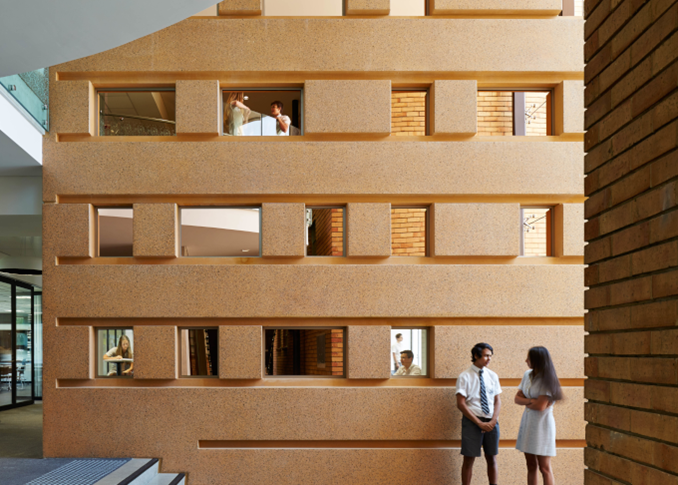 Adelaide-High-School-Modern-Hallway