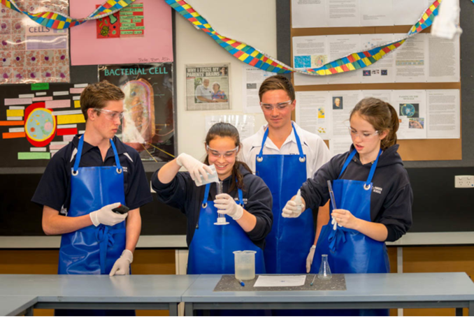 Victor Harbor High School Public South Australia Australia Chemistry Class