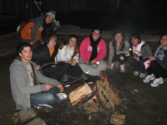 Elwood-College-Students-Bonfire