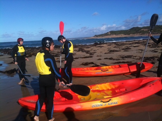 Sandringham-College-Kayaking