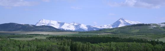 Livingston Range School Division in British Columbia Canada Scenic Mountains