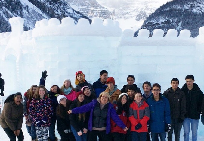Livingstone-Range-School-Division-Alberta-Students-Trip