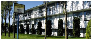 Building of the Alpha Secondary Highschool in Burnaby Canada