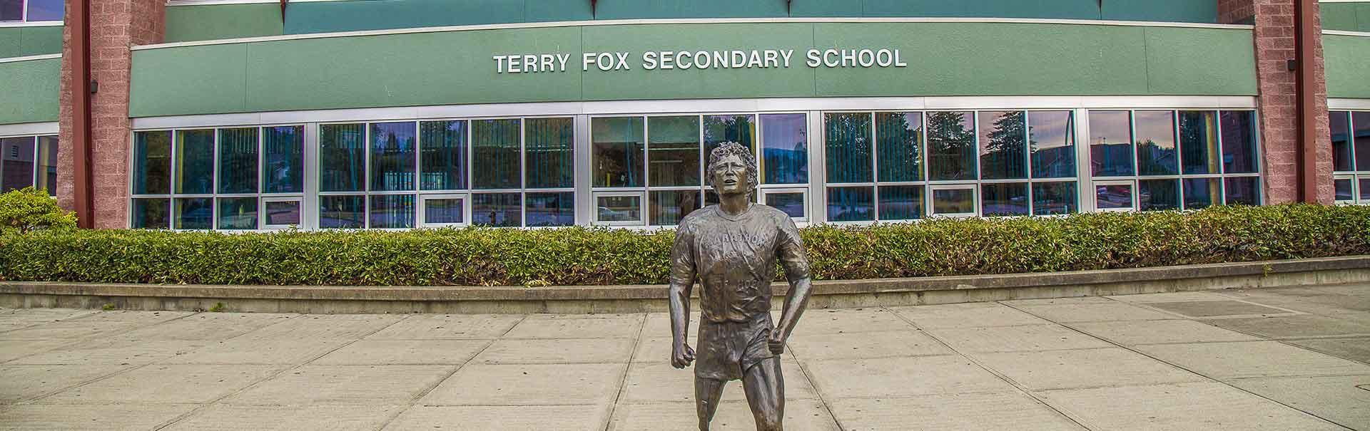 High School in Coquitlam School District in British Columbia, Canada