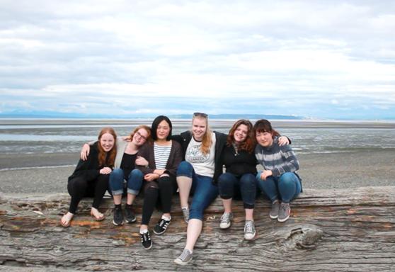 Delta School District-British Columbia-Students at Beach-Gallery-Canada-2019