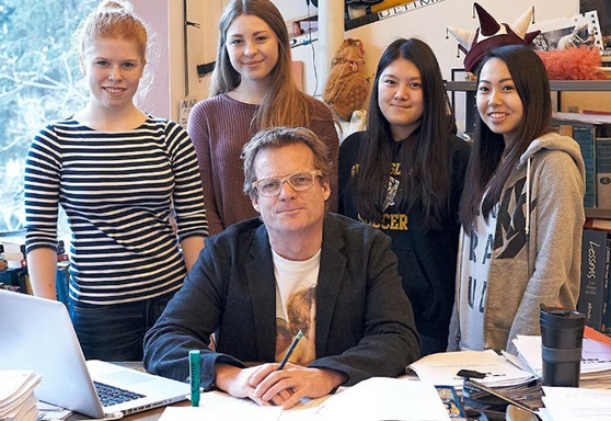 Gulf Islands School District-British Columbia-Students with Teacher-Gallery-Canada-2019
