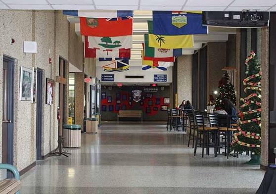 WindsorEssexCatholicSchool-AssumptionHighSchool-SchoolHallway-Galleryjpg