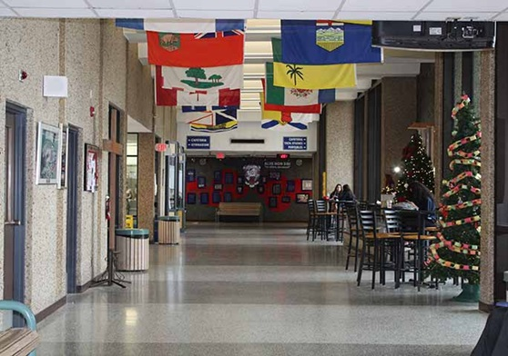 WindsorEssexCatholicSchool-AssumptionHighSchool-SchoolHallway-Galleryjpg