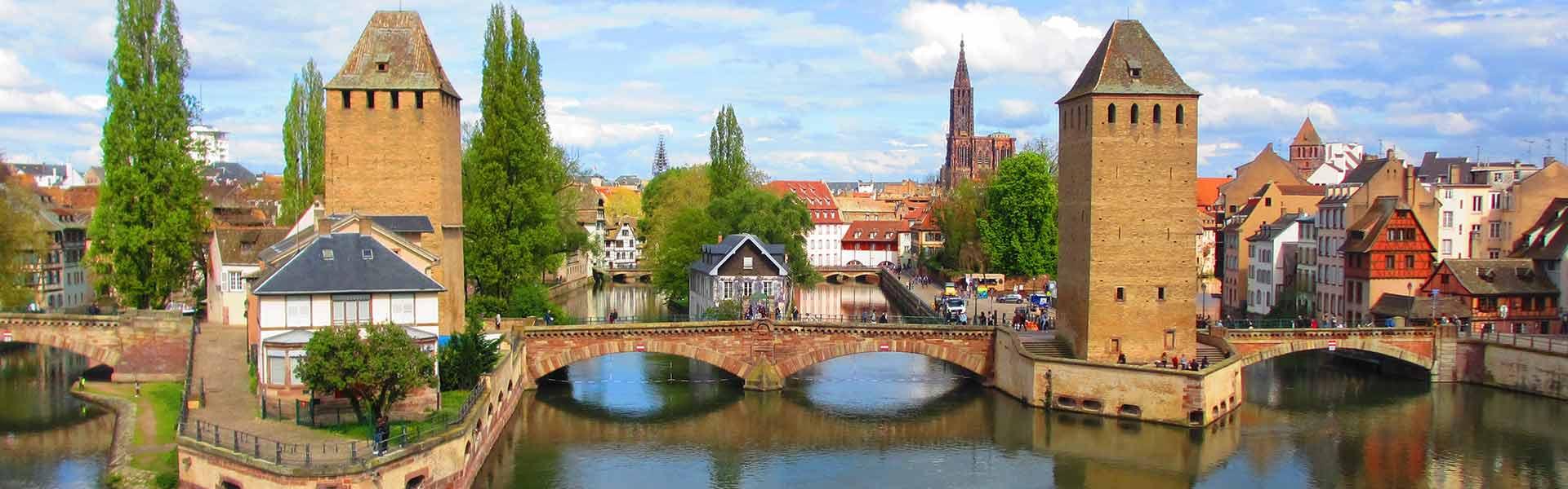 City of Strasbourg near Epinal in Lorraine, France