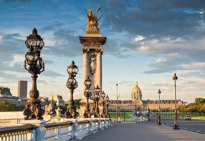 The Dome in the City of Paris, Île-de-France, France