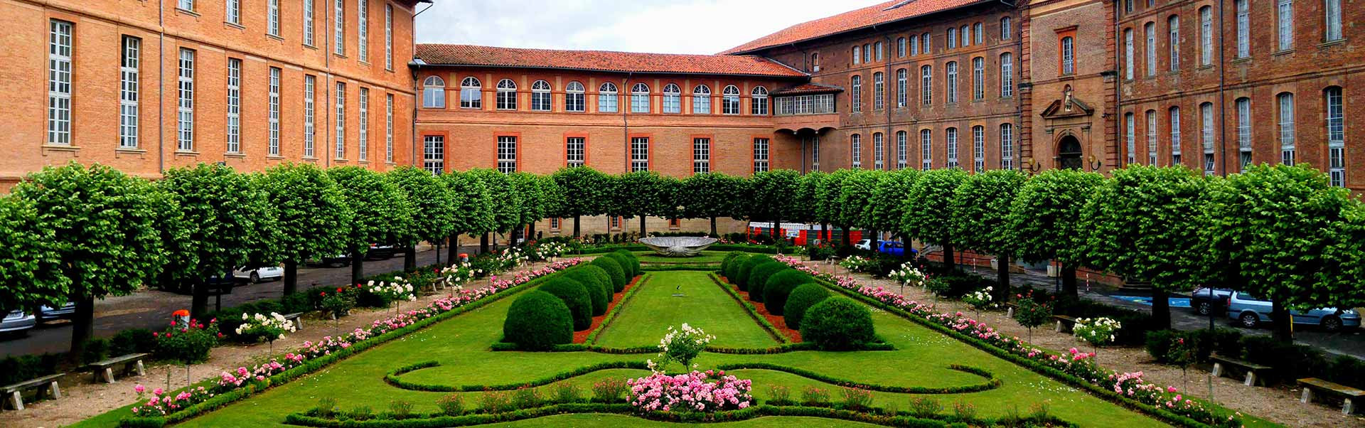 City of Toulouse in Occitaine, France