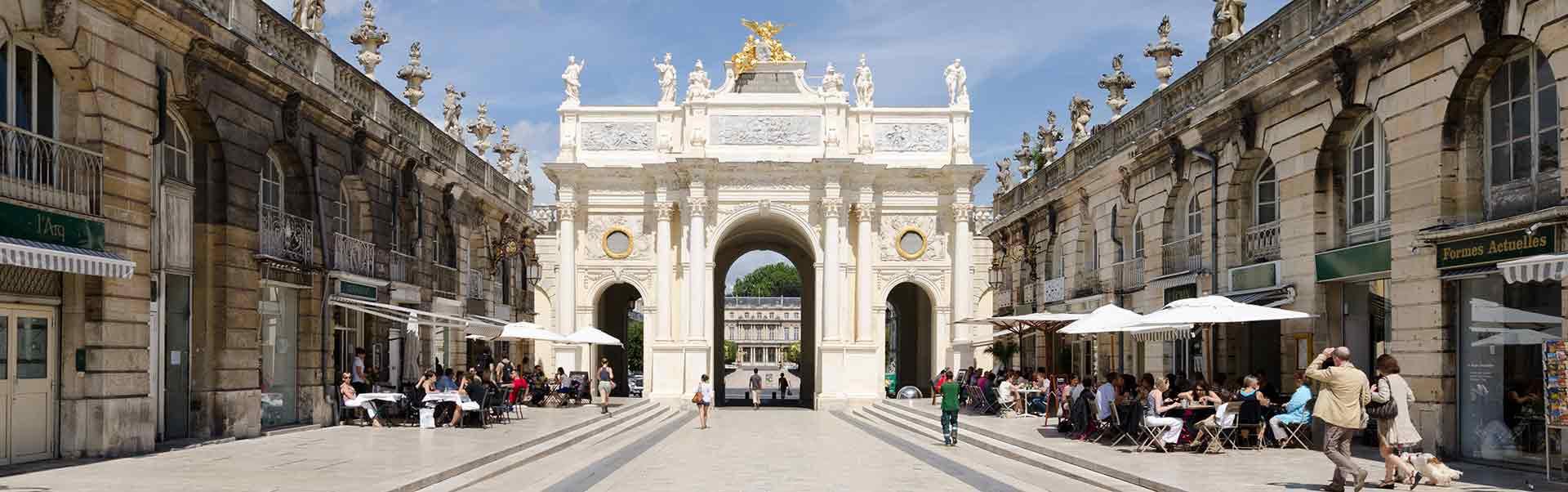 City of Nancy in Lorraine, France
