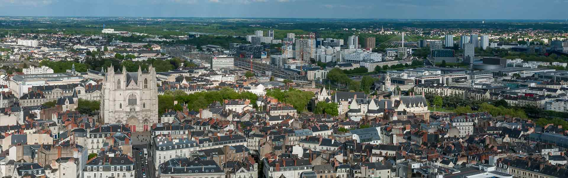 City of Nantes in Lorraine, France