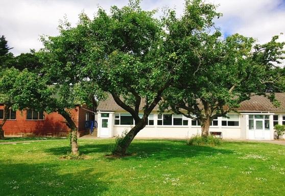 Exterior of Sutton Park School