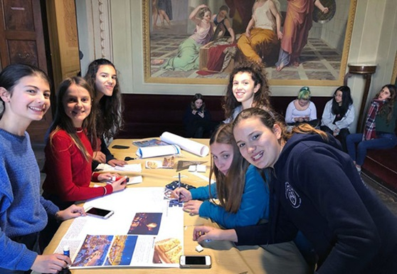 Educandato-Statale-SS-Annunziata-Villa-del-Poggio-Imperiale-Boarding-Florence-Italy-Students-on-a-break-Thumbnail