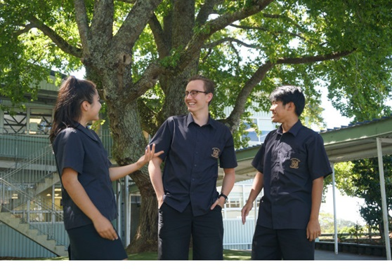 Northcote College Public North Island New Zealand Students on Campus