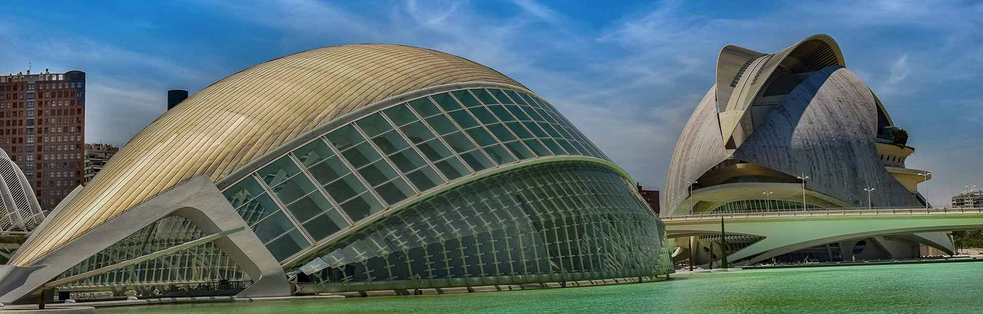 Science Museum in the city of Valencia, Spain